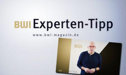 BWI Experten-Tipp: Kamera läuft…