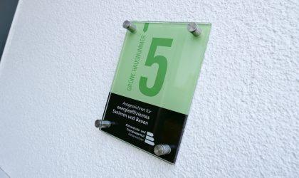 """Jetzt für die """"Grüne Hausnummer"""" bewerben"""