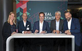 Das Team der neuen Messe: Daniela Stack, Thomas Westfehling, Dr. Jochen Köckler, Stefan Müller-Schleipen und Hartwig von Saß (v.l.n.r.).